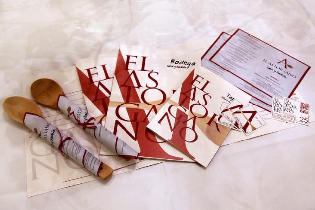 Diseño de la identidad corporativa restaurante El Astorgano
