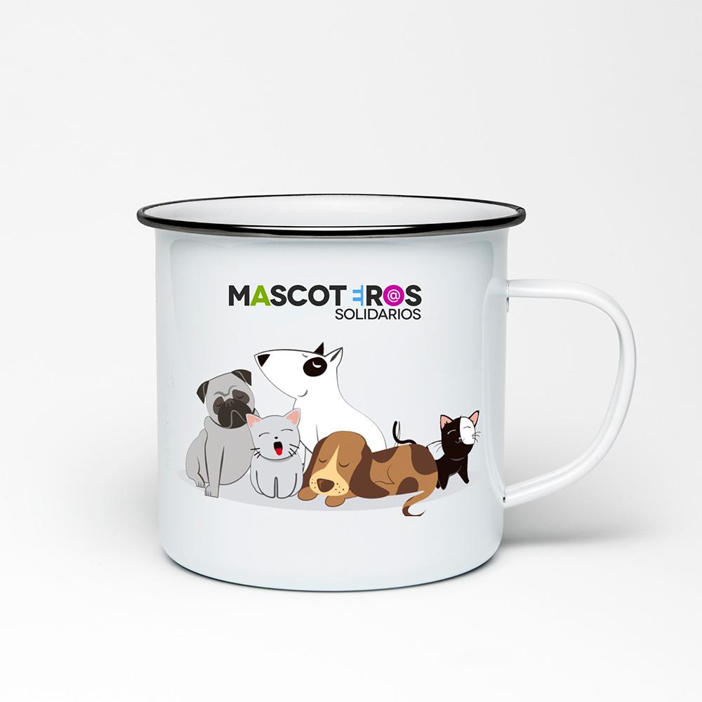 Diseño de merchandising para Mascorteros Solidarios