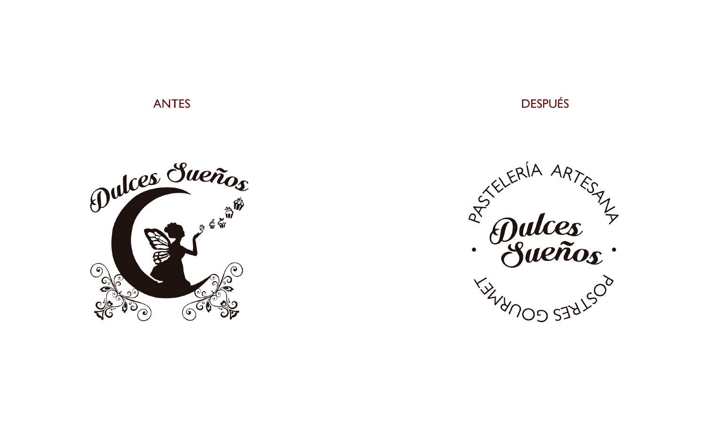 Identidad y logotipo Dulces Sueños