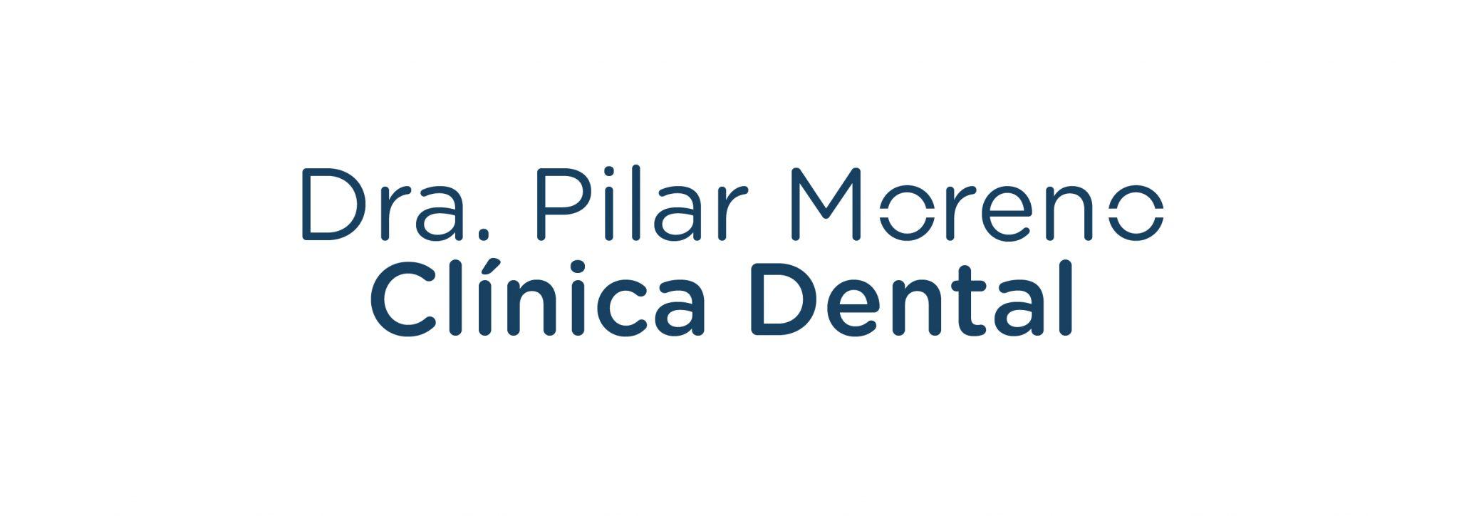 Identidad Corporativa Clínica dental Pilar Moreno