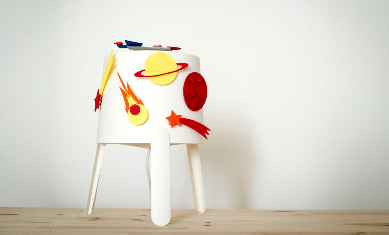 Diseño para Ikea Galaxia Tvars
