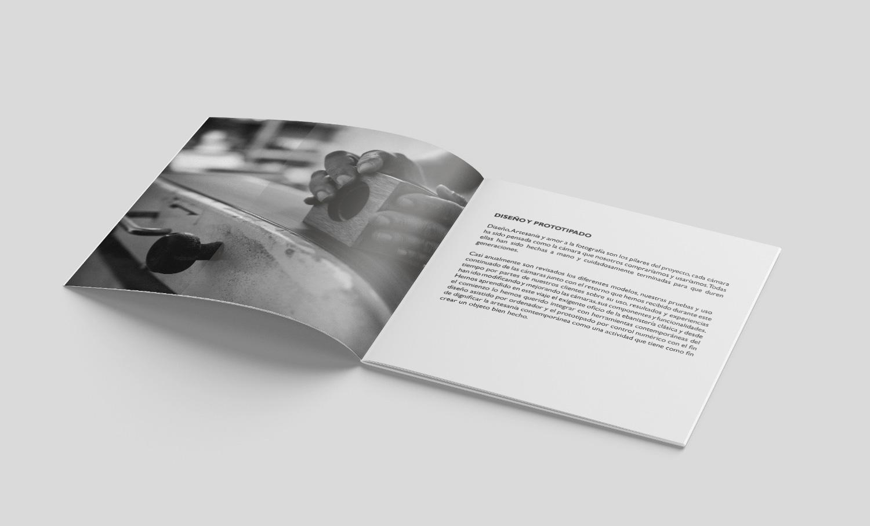 Maquetación catálogo Nopo Cameras