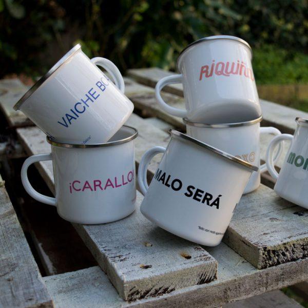 Colección tazas chapas Andrea Candamio