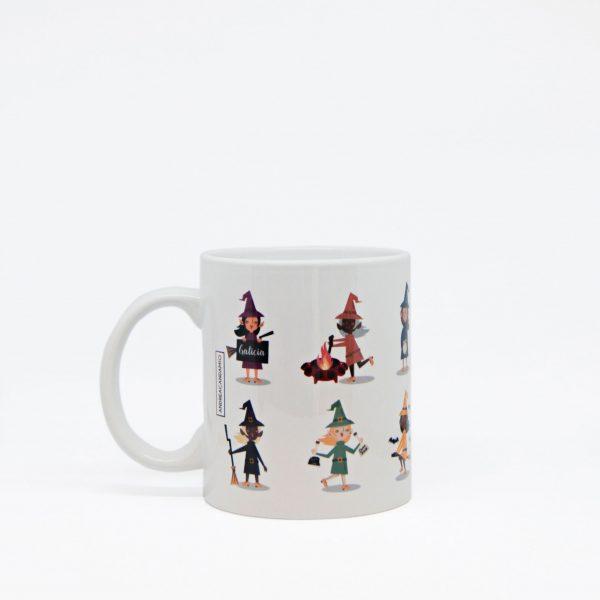 Taza cerámica - Meigas Andrea Candamio