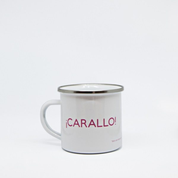 Taza chapa Carallo - Andrea Candamio