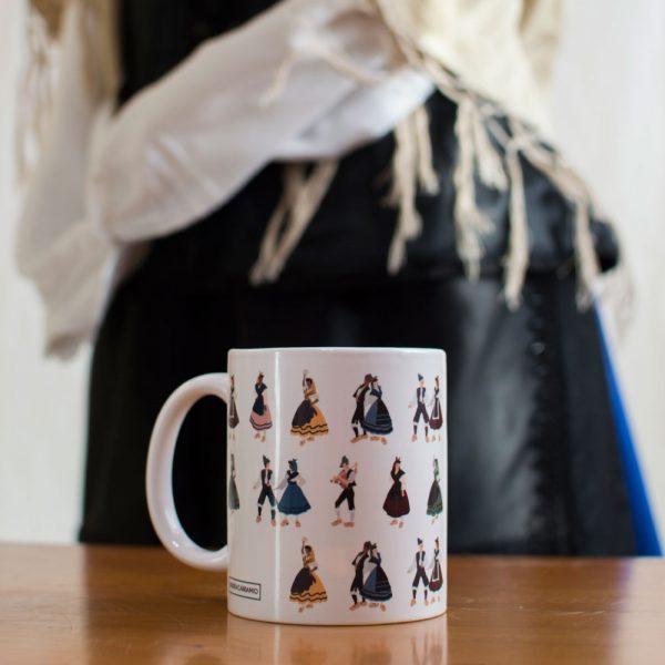 Taza cerámica Muiñeiras - Andrea Candamio