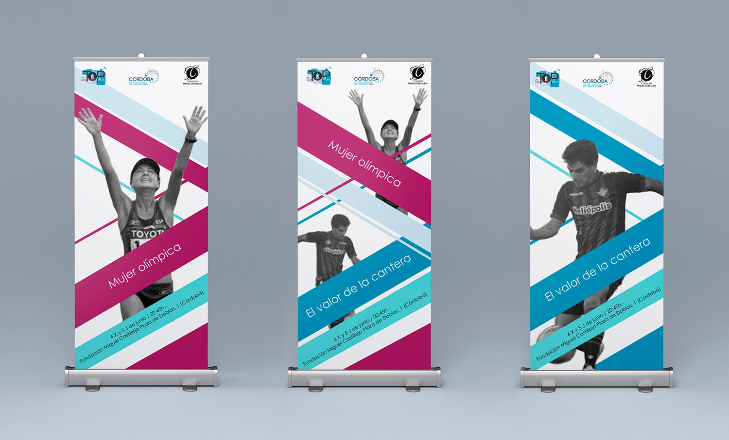 Diseño de evento para Top Sport Women